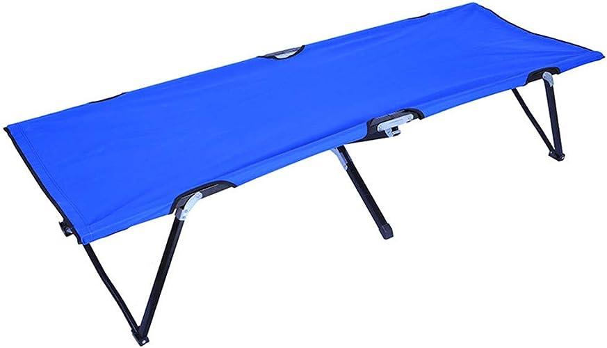 Table de camping table pliante Lit de camping pour adultes Lit de camping portable léger Lit pliant compact, idéal pour le camp de base, la randonnée et la chasse