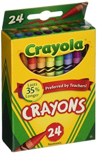 Crayola Crayons 24 Count, 6 Pack (52-0024-6)
