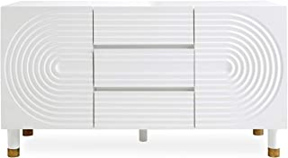Now House by Jonathan Adler Josef Buffet, White