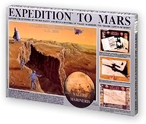 Expedition to Mars 3-D Map Kit by Kristal Education Inc.