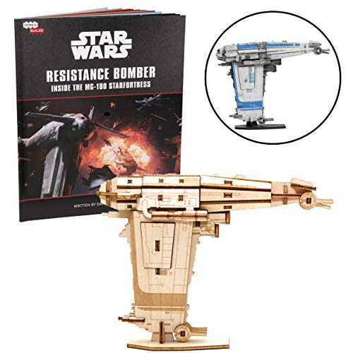 Star Wars Resistance Bomber 3D Wood Puzzle...