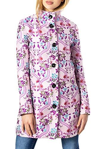Desigual Übergangs Mantel Sommer Abrig Daniela 20SWEW90 / 3048 European Fabric (36)