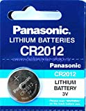 Panasonic - Pila botón Litio Blister CR2012 3V 55mAh