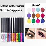 Zoom IMG-1 rechoo 12 eyeliner colorati set