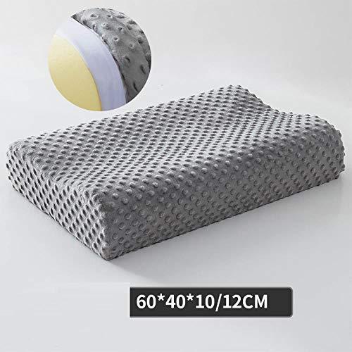 Memory Foam Pillow Orthopedic Pillow Latex Neck Pillow Fiber Slow Rebound Soft Pillow Massager For Cervical Health Care, a1