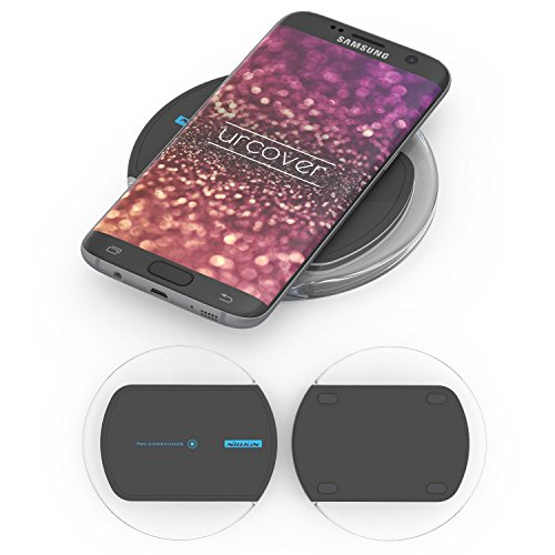 Nillkin Magic Disk 2 Qi-Charger | Universal Wireless Charging Ladegerät kabellos Laden kompatibel mit S7,S7 Edge, S6 Lumia 920, HTC 8X, LG G3 uvw. in Schwarz