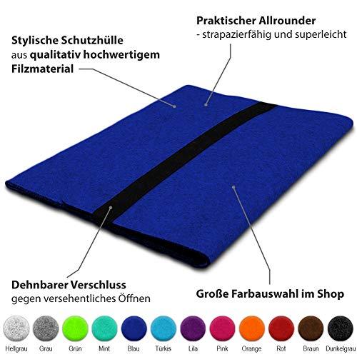UC-Express Sleeve Hülle kompatibel für Lenovo ThinkPad T14 T14i T14s Tasche Filz Notebook Cover Laptop Case 14 Zoll, Farbe:Blau