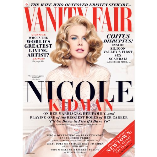 Vanity Fair: December 2013 Issue audiobook cover art