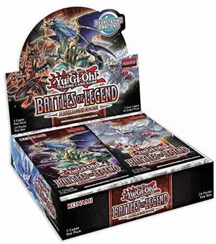 Konami Yu-Gi-Oh! Battles of Legend: Armageddon Booster Box