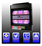 LED Grow Lights Smart Full Spectrum with UV + IR Tunable, 400 Watts OSRAM Horticulture LEDs, GROWant G5Pro HiPAR Series G400 Black, 5 Channels Full Power Dimmable for Indoor Plants Veg and Flower