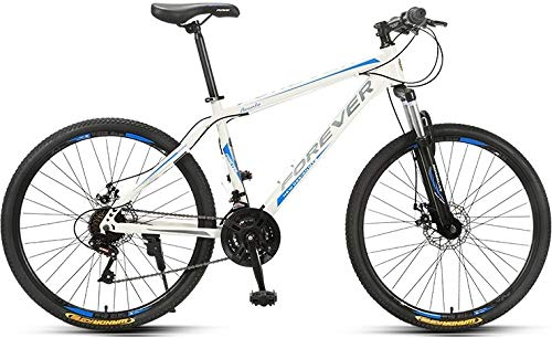 Bicicleta de montaña para adultos, sin marca Forever con asiento ajustable, YE880, 24 velocidades, aleación de...