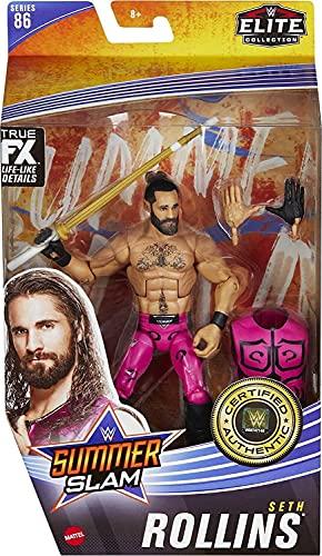 WWE Elite FX Collection Serie 86 Sommerslam Seth Rollins - Figuras de acción...