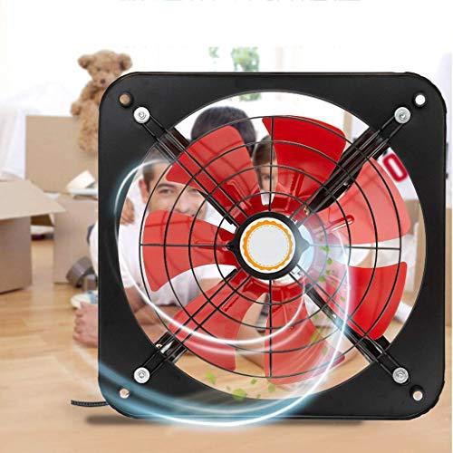Extractor De Baño, Extractor de baño Ventilador, ventilador de extractor de cocina 10 pulgadas, ahorro de energía tranquilo, gran volumen de aire, a prueba de humedad y a prueba de humedad, adecuado p
