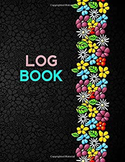 Log Book: Ruled Lined Daily Inventory Book Paper Generic Multipurpose Logbook Journal Record Book Information Sheet, Jotter, Record Books, For ... Boys, 110 Pages. (Essential Office Supplies)