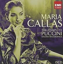 The Complete Puccini Studio Recordings by Maria Callas (2008-10-28)