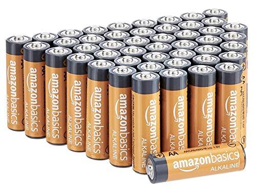 Amazon Basics AA-Alkalibatterien Bild