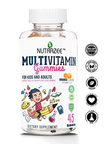 Nutrazee Complete Multivitamin Vegetarian Gummies...