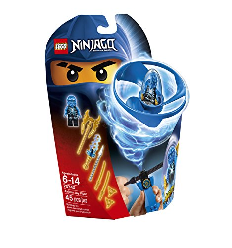 LEGO Ninjago Airjitzu Jay Flyer 70740 Building Kit by LEGO