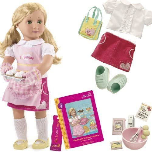 Our Generation Jenny And inches The Sweet Shoppe Mystery inches Deluxe Doll Set With Poseable 18 inches Doll And Chapter Book by Our Generation