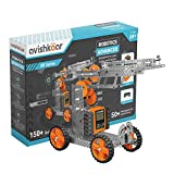 Included components : 50+ parts including metal parts, motors, wheels, remote control, gears, nuts & bolts, allen key, cables, manual & programmable brain, Ages : 10 years and above Make over 150+ robots, Learn intermediate robotics with mechanical d...