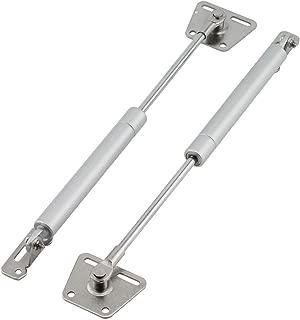 PZRT 2-Pack Hydraulic Support Rod Furniture Cabinet Door Gas Strut Stay Soft Close Hinge Furniture Hardware Fittings Tatami Door Buffer Telescopic Rod