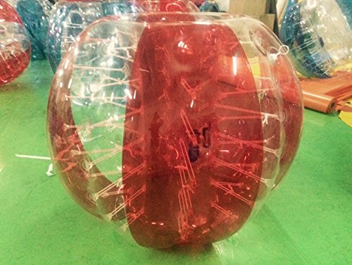 iconiciris Inflatable Bumper Bubble Balls Body Zorb Ball Soccer Bumper Football Human Hamster Ball