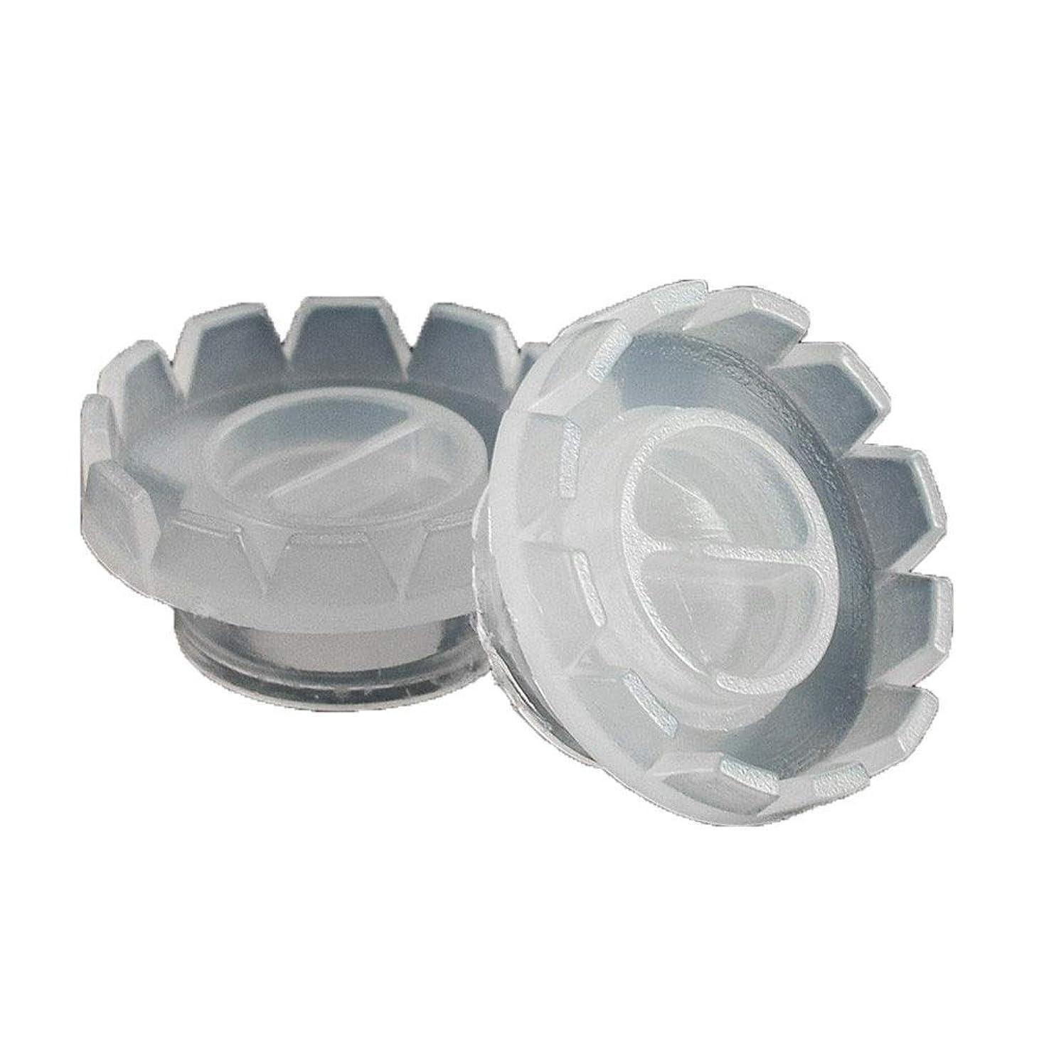 母音軽スローガンファンまつげのエクステンション専用のツールを作るための50pcs /袋まつげブルーミングカップまつげ移植日の花のりカップ 軟質天然つけまつげエクステンション3dまつげラッシュデラックスまつげボリューム偽まつげ