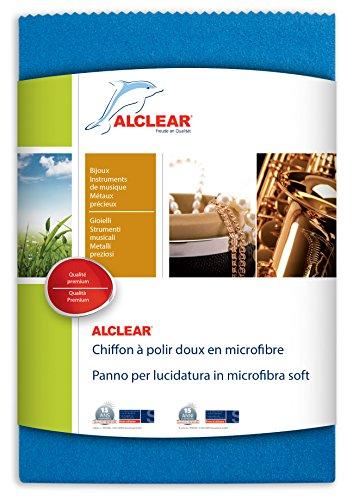 ALCLEAR 950026z Chiffon en Microfibre Douce 40 x 40 x 40 cm, Bleu