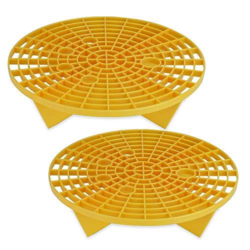 Separatore di sabbia e ghiaia, autolavaggio protezione ghiaia sabbia pietra isolante secchio a rete filtro antigraffio