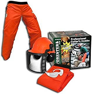 Forester OEM Arborist Forestry Professional Cutter's Combo Kit Chaps Helmet FORCHG (40