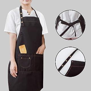 ShiFanA Grembiule Da Cuoco Con 2 Tasche Per Cucinare Cottura Giardinaggio Per Uomo Donna