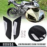 etc. NBX Barra de carbono CBR Logo extremos Honda Super Blackbird CBR1100XXHonda CBR 1000 RR 2004-2008 Honda CBR 600RR 2003-2013 Honda CBR 600 F1//F2//F3//F4//F4I 1987-2006