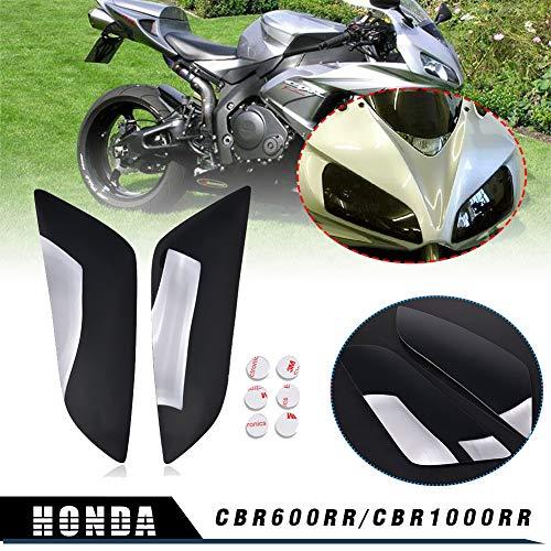 LoraBaber Motocicleta Cubierta de faro de humo para 2004-2007 CBR1000RR 2003-2006 H-o-n-d-a CBR 600 RR 600RR