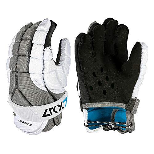 CHAMPRO LRX7 Lacrosse Glove, GREY, Medium
