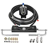Mophorn 150HP Hydraulic Outboard Steering Kit Boat Marine System