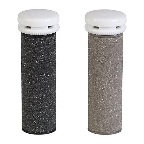 Silk'n Micro Pedi Wet&Dry Hornhautentferner Nachfüll-Rollen für trockene und nasse Anwendung, Medium und Grob