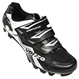 Venzo Mountain Bike Bicycle Cycling Compatible with Shimano SPD Shoes Black 40