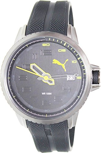 Puma Herren-Armbanduhr XL Turbine 3HD Analog Quarz Resin PU103281003
