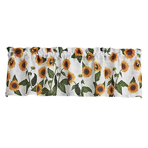 "Park Designs Sunflower Toile Valance 60'' x 14"""