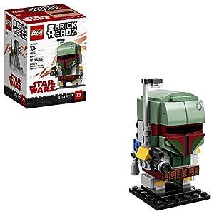 LEGO 6225354 Brickheadz Boba Fett 41629 Building Kit, Multicolor