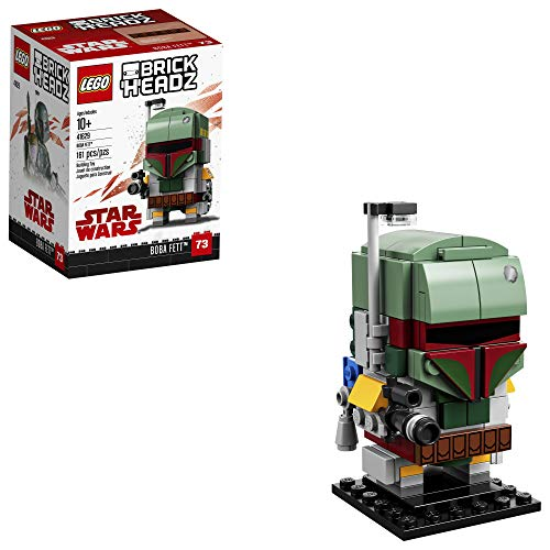 LEGO 6225354 Brickheadz Boba Fett 41629 Building Kit, Multicolor