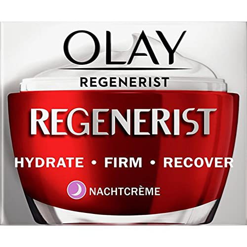 Olay - Crema de noche Regenerist sin perfume, 50 ml.