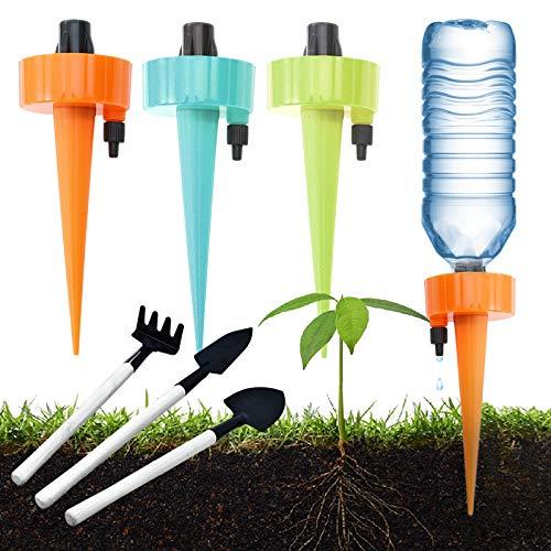 Gxhong Automatisch Bewässerung Set, Bewässerung Für Topfpflanzen Blumen, Einstellbar Bewässerungssystem für die meisten Flaschen
