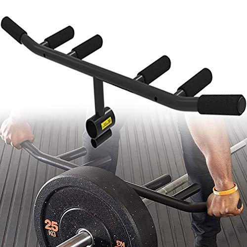 WDSZXH Casa Palestra T-Bar Row Handle, Bodybuilding Landmine alla Maniglia Adatto 1 & 2 Pollici Olimpici Bar, Rematore Movimento Sistema Posteriore
