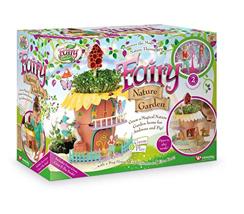 My Fairy Garden- Fairy Nature Garden Jardín de Hadas, Multicolor (Interplay UK Ltd FG407)