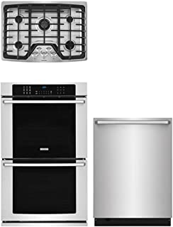 Electrolux 3 Piece Kitchen Appliance Package with EW30GC60PS 30