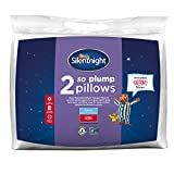Silentnight So Plump Pillow - White, Pack of 2