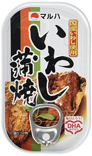 マルハ いわし蒲焼 100g 6缶