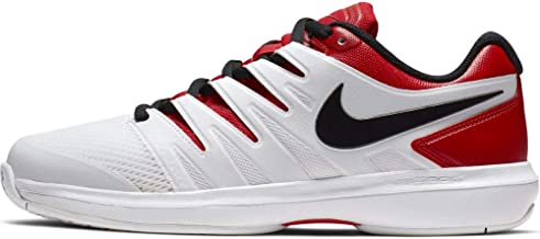 Nike Air Zoom Prestige Mens Tennis Shoe (8.5 D US, University Red/Black/White)