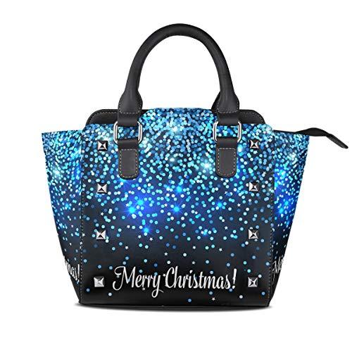 MALPLENA Urlaubs-Atmosphere Handtasche mit leichtem Muster